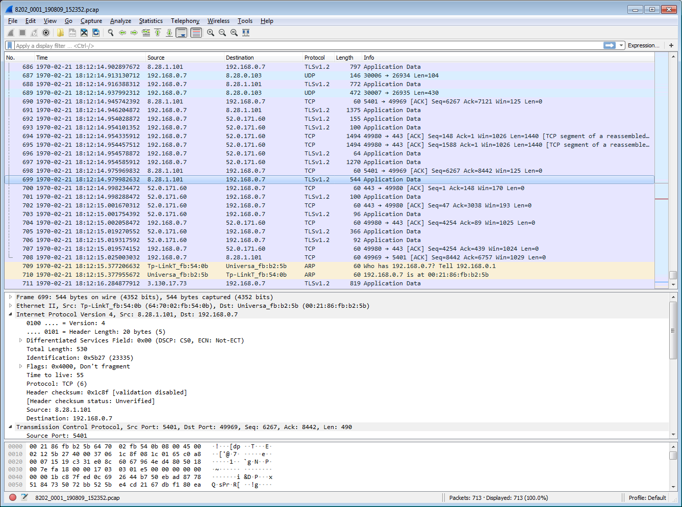 Wireshark Troubleshooting